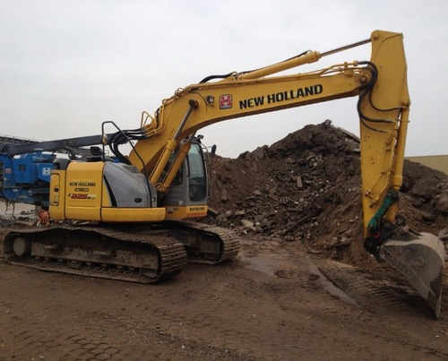 Product picture New Holland E225BSR ROPS Tier 3 Crawler Excavator Service Repair Manual Download