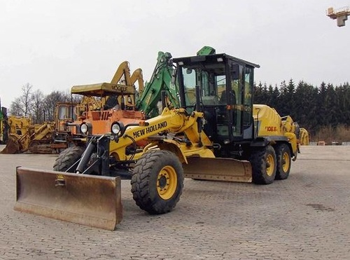 Product picture NEW HOLLAND F106.6, F106.6A GRADER SERVICE REPAIR MANUAL DOWNLOAD