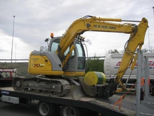 Product picture New Holland E70SR Midi Crawler Excavator Service Repair Manual Download