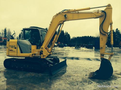 Product picture New Holland E80BMSR Midi Crawler Excavator Service Repair Manual Download