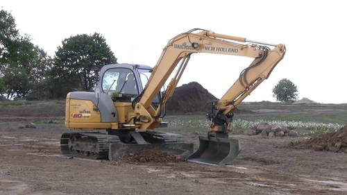 Product picture New Holland E80MSR Midi Crawler Excavator Service Repair Manual Download
