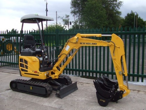 Product picture New Holland E18SR Mini Crawler Excavator Service Repair Manual Download