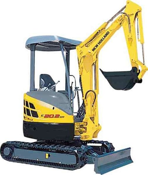 Product picture New Holland E20.2SR, E22.2SR, E27.2SR Mini Crawler Excavator Service Repair Manual Download