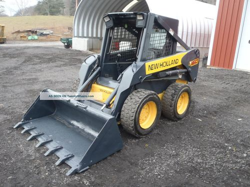 Product picture NEW HOLLAND L160, L170 SKID STEER LOADER SERVICE REPAIR MANUAL DOWNLOAD