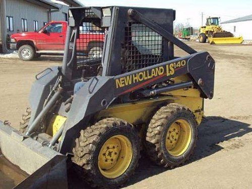 Product picture NEW HOLLAND LS140, LS150 SKID STEER LOADER SERVICE REPAIR MANUAL DOWNLOAD
