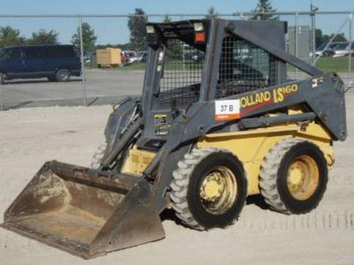 Product picture NEW HOLLAND LS160, LS170 SKID STEER LOADER SERVICE REPAIR MANUAL DOWNLOAD