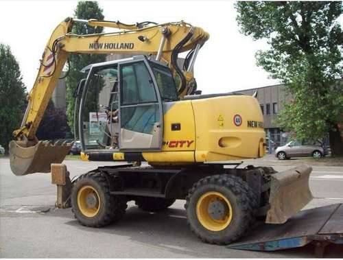 Product picture NEW HOLLAND MHCity, MHPlus, MH5.6 HYDRAULIC EXCAVATOR SERVICE REPAIR MANUAL DOWNLOAD