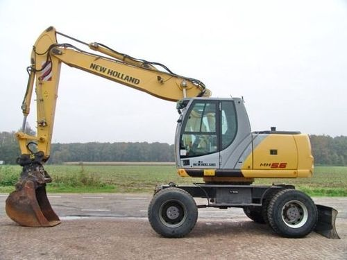 Product picture NEW HOLLAND MH6.6, MH8.6 HYDRAULIC EXCAVATOR SERVICE REPAIR MANUAL DOWNLOAD